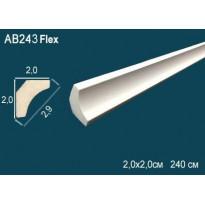 Потолочный плинтус гибкий AB243F