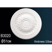 Розетка потолочная B3020