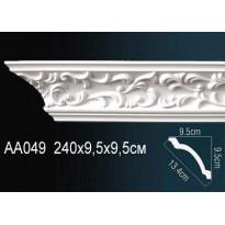Гибкий потолочный плинтус Перфект AA049F
