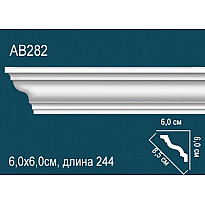 Плинтус потолочный AB282