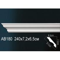 Гибкий потолочный плинтус Перфект AB180F