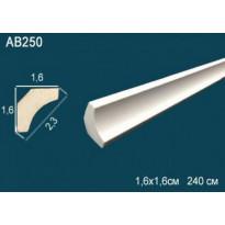 Потолочный плинтус гладкий AB250
