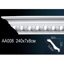 Гибкий потолочный плинтус Перфект AA008F