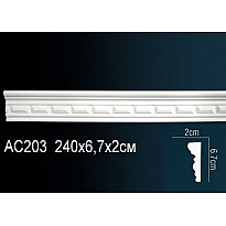 Молдинг из полиуретана гибкий AC203F