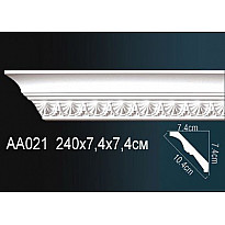 Гибкий потолочный плинтус Перфект AA021F