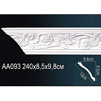 Гибкий потолочный плинтус Перфект AA093F