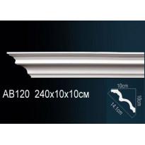 Гибкий потолочный плинтус Перфект AB120F
