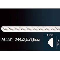 Молдинг из полиуретана гибкий AC261F
