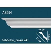 Потолочный плинтус AB294