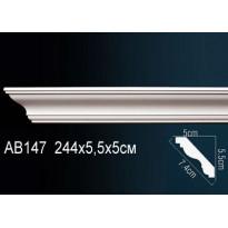Гибкий потолочный плинтус Перфект AB147F