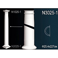 Полуколонна из полиуретана N3025-1