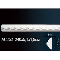 Молдинг из полиуретана гибкий AC252F