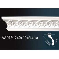 Гибкий потолочный плинтус Перфект AA019F