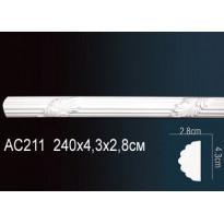 Молдинг из полиуретана гибкий AC211F