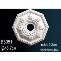 Розетка потолочная B3051
