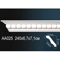 Гибкий потолочный плинтус Перфект AA025F