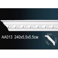 Гибкий потолочный плинтус Перфект AA013F