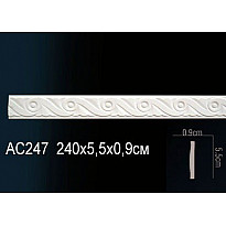 Молдинг из полиуретана гибкий AC247F