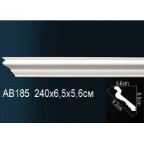 Гибкий потолочный плинтус Перфект AB185F