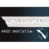 Гибкий потолочный плинтус Перфект AA022F