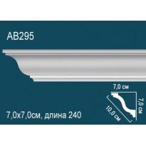Плинтус потолочный AB295
