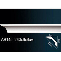 Гибкий потолочный плинтус Перфект AB145F