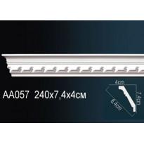 Гибкий потолочный плинтус Перфект AA057F