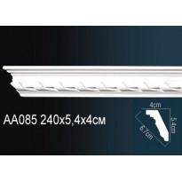 Гибкий потолочный плинтус Перфект AA085F