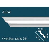 Потолочный плинтус AB240