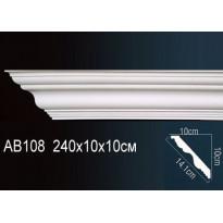 Гибкий потолочный плинтус Перфект AB108F