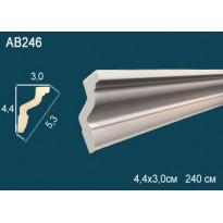Потолочный плинтус гладкий AB246