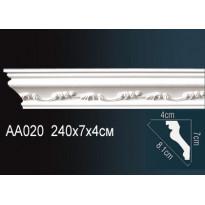Гибкий потолочный плинтус Перфект AA020F