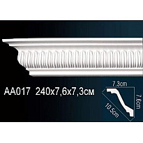 Гибкий потолочный плинтус Перфект AA017F