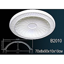Купол из полиуретана B2010