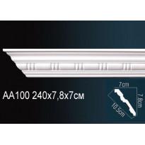 Гибкий потолочный плинтус Перфект AA100F
