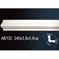 Гибкий потолочный плинтус Перфект AB132F