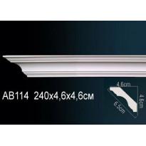 Гибкий потолочный плинтус Перфект AB114F