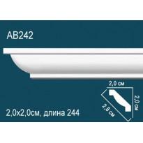 Потолочный плинтус AB242