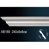 Гибкий потолочный плинтус Перфект AB189F