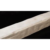 Декоративная балка из полиуретана Б4 (белая) (20,5*23*300) классика Уникс