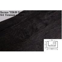 Декоративная балка из полиуретана Б4 (тёмная олива) (20,5*23*300) классика Уникс