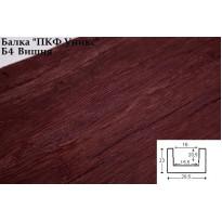 Декоративная балка из полиуретана Б4 (вишня) (20,5*23*300) классика Уникс