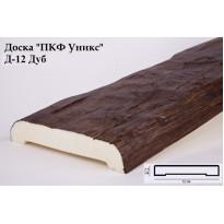Декоративная доска из полиуретана Д-12 (Дуб) (12*2,5*200) Уникс