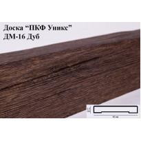 Декоративная доска из полиуретана ДМ-16 (Дуб) (16*2,5*200) Уникс