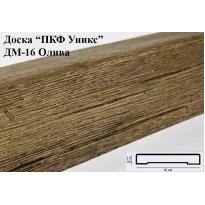 Декоративная доска из полиуретана ДМ-16 (Олива) (16*2,5*200) Уникс