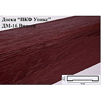 Декоративная доска из полиуретана ДМ-16 (Вишня) (16*2,5*200) Уникс