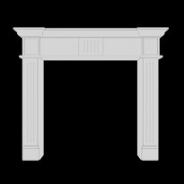 элементы декоративного камина
