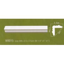Уголки WB015 Декор с гладким профилем Artflex