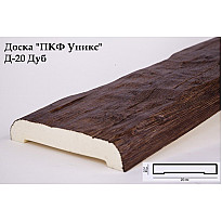 Декоративная доска из полиуретана Д-20 (дуб) (20*3,5*200) Уникс