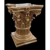 Пьедестал PT-013 Bronze Декор из стекловолокна Decorus